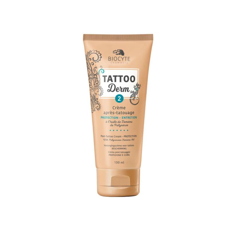 Biocyte Tattoo Derm 2 Crème Après-Tatouage 100 ml disponible sur Pharmacasse