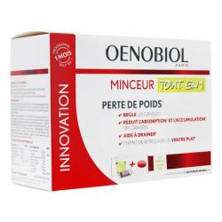 Oenobiol minceur tout en 1 perte de poids 30 sticks + 60 comprimés