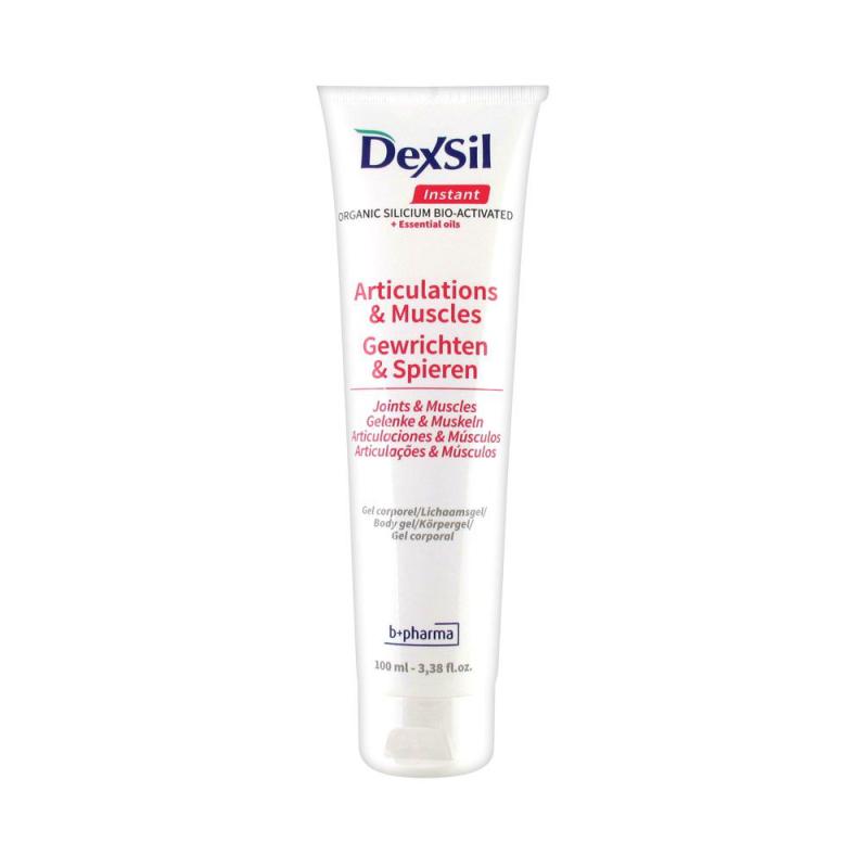 Dexsil Instant Articulations Organic Silicium Bio-Activated + Huiles Essentielles Gel Corporel 100 ml disponible sur Pharmacasse