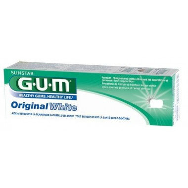 SUNSTAR GUM Original white dentifrice 75ml