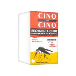 CINQ SUR CINQ LOTION TROPIC ANTI MOUSTIQUES ZONES À RISQUES - 75ML