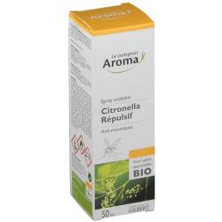 Le Comptoir Aroma Citronella spray répulsif