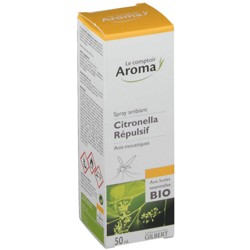 Le Comptoir Aroma Citronella spray répulsif 50 ml
