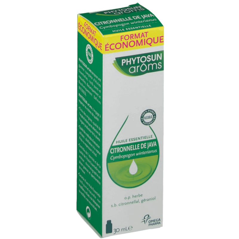 Phytosun Aroms Citronnelle de Java 30 ml disponible sur Pharmacasse