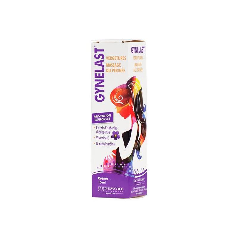 Gynelast Vergeture et Massage du Perinée 15ml disponible sur Pharmacasse