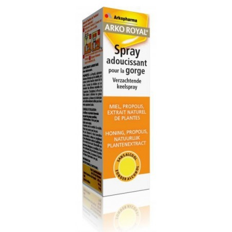 ARKO ROYAL spray gorge miel propolis 30ml