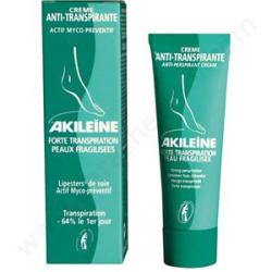 AKILEINE Crème antitranspirante actif myco-préventif 50ml
