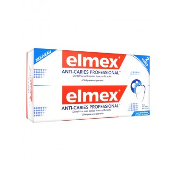 ELMEX Anti-Caries Professional Lot de 2 Tubes de 75ml disponible sur Pharmacasse