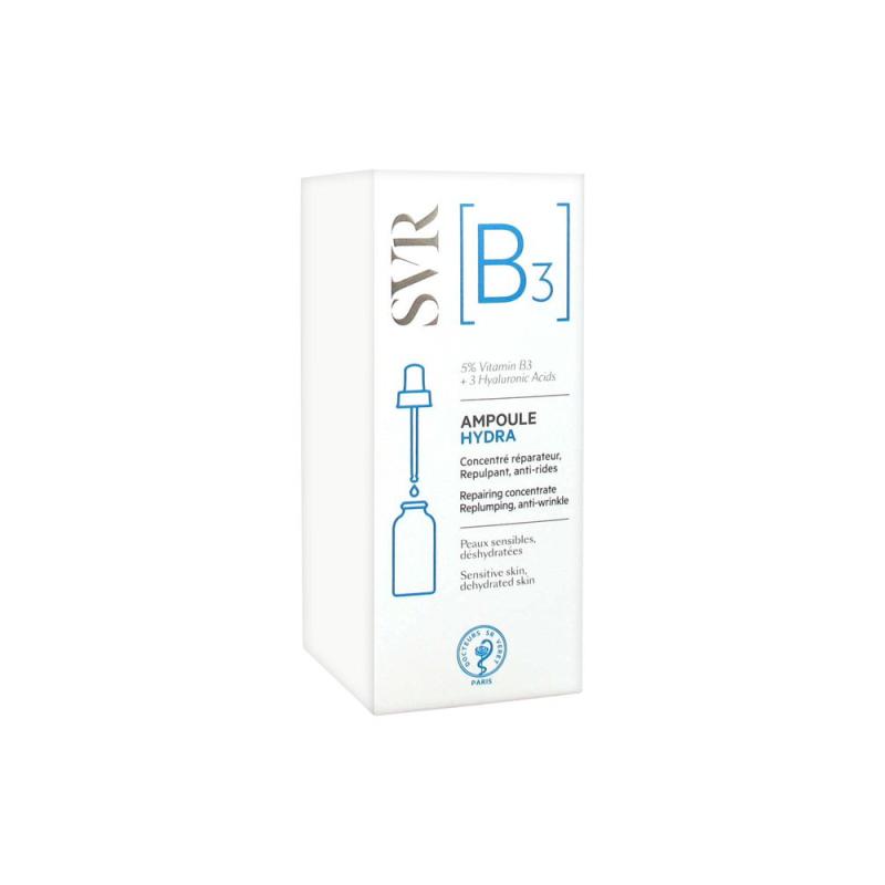 SVR [B3] Ampoule Hydra Concentré Réparateur 30 ml disponible sur Pharmacasse