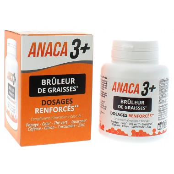 ANACA 3+ Brûleurs de Graisses 120 Gélules