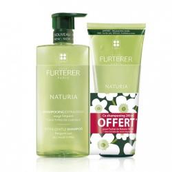 Furterer Naturia Shampoing Extra-Doux Usage Fréquent 500 ml + Naturia Shampoing Extra-Doux Usage Fréquent 200 ml Offert