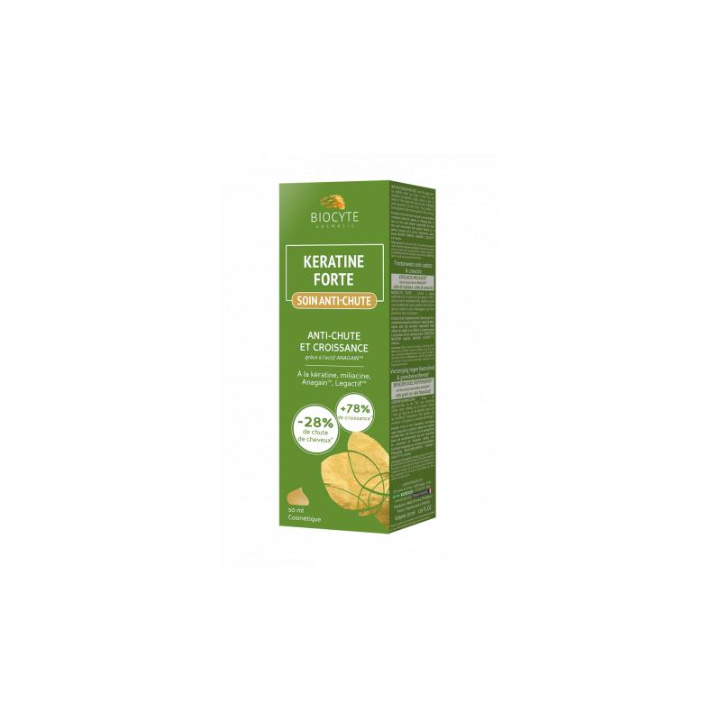 Biocyte Keratine Forte Soin Anti-Chute 50ml disponible sur Pharmacasse