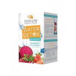 Biocyte Water detox drainant goût fraise 7 doses de 16gr