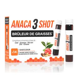 Anaca 3 Shots Brûleur de graisses