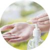 Gel hydroalcoolique- antibacterien