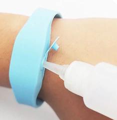 Remplissage bracelet
